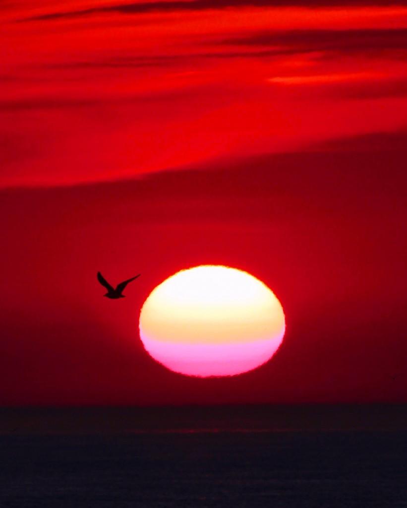9 Zonsondergang Sander Lagerveld