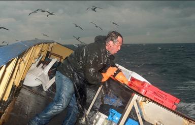 The last man standing (Foto door Martijn de Jonge tijdens Botney Cut Experience II